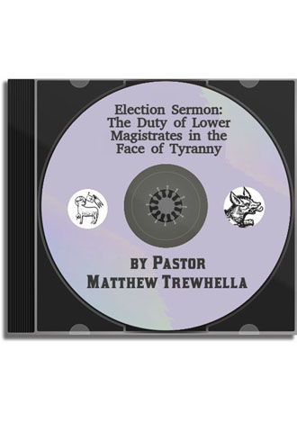 Sermon CD - The Duty of Lower Magistrates