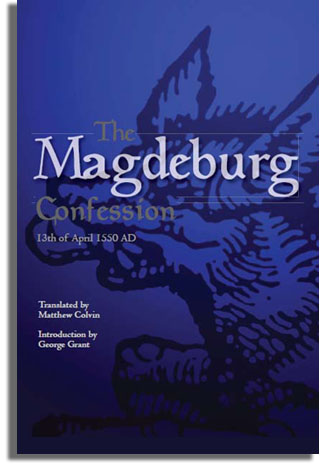 Book: The Magdeburg Confession of 1550