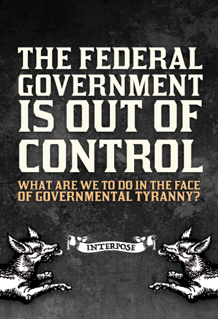 Pamphlet: The Federal Government is out of Control 50 pack