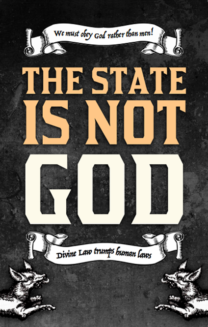 Pamphlet: The State is not God - 50 pack
