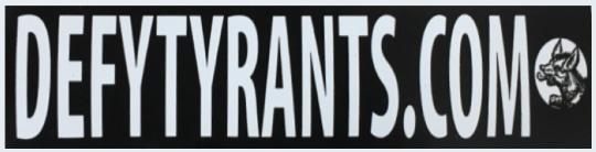 Defy Tyrants 8.5 x 1.38